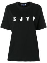SJYP | printed logo T-shirt SJYP | Clouty