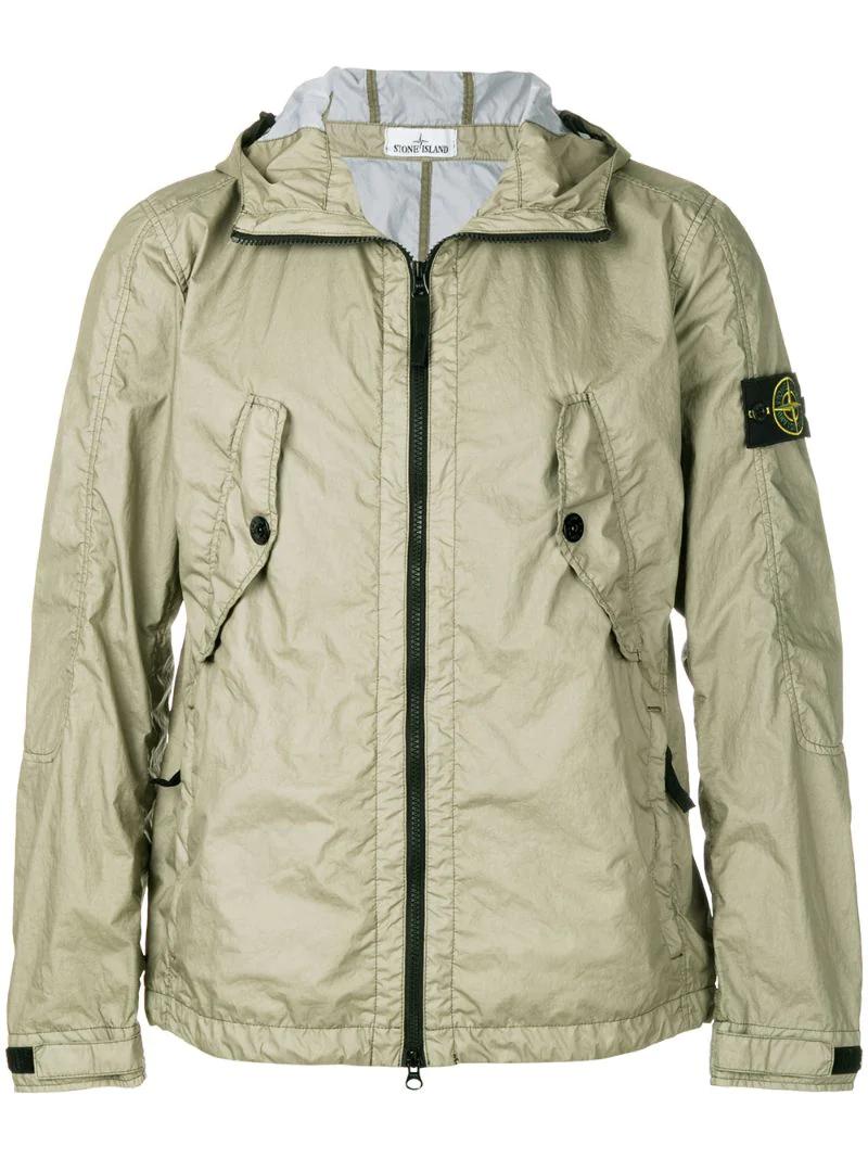 Stone Island   Зелёный легкая куртка на молнии Stone Island   Clouty ... 8de1268b70c