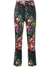 Etro | floral print cropped trousers Etro | Clouty