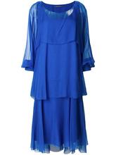 Alberta Ferretti | расклешенное платье миди  Alberta Ferretti | Clouty