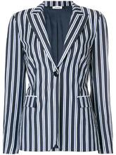 P.A.R.O.S.H.   striped fitted blazer P.A.R.O.S.H.   Clouty