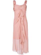 Alberta Ferretti | асимметричное струящееся платье Alberta Ferretti | Clouty