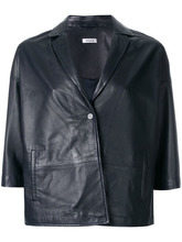 P.A.R.O.S.H. | cropped leather jacket P.A.R.O.S.H. | Clouty