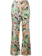Paul & Joe | укороченные брюки  с цветочным принтом Paul & Joe | Clouty