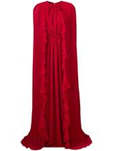 Giambattista Valli   длинное платье  с рюшами Giambattista Valli   Clouty