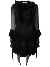 GIVENCHY | pleated A-line short dress Givenchy | Clouty