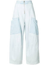 Chloé | расклешенные джинсы Chloe | Clouty