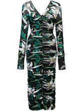 Diane Von Furstenberg | платье-миди 'Camille' с сетчатым верхним слоем Dvf Diane Von Furstenberg | Clouty