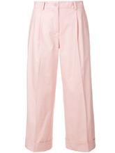 P.A.R.O.S.H.   укороченные брюки с полосками по бокам   Clouty
