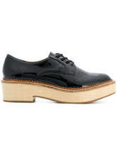 Emporio Armani | lace-up block sole shoes | Clouty