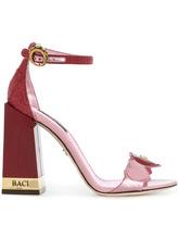 Dolce & Gabbana | босоножки с деталью в форме сердца | Clouty