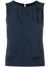 Roberto Collina | sleeveless blouse | Clouty