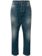 6397 | укороченные джинсы свободного кроя | Clouty