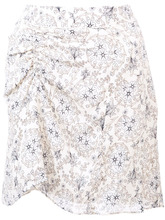 Derek Lam 10 Crosby | Skirt with Ruched Detail | Clouty