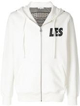 Les Benjamins | толстовка на молнии с капюшоном и логотипом | Clouty