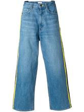Facetasm   широкие джинсы с полосками по бокам   Clouty