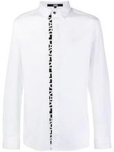 KARL LAGERFELD | поплиновая рубашка с логотипом | Clouty