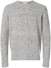 Cenere Gb | меланжевый свитер с круглым вырезом | Clouty