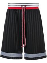 John Elliott | спортивные шорты с полосками | Clouty