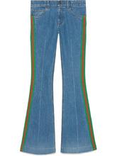 GUCCI   расклешенные джинсы   Clouty