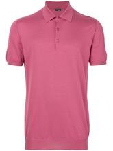 Kiton   рубашка-поло узкого кроя   Clouty