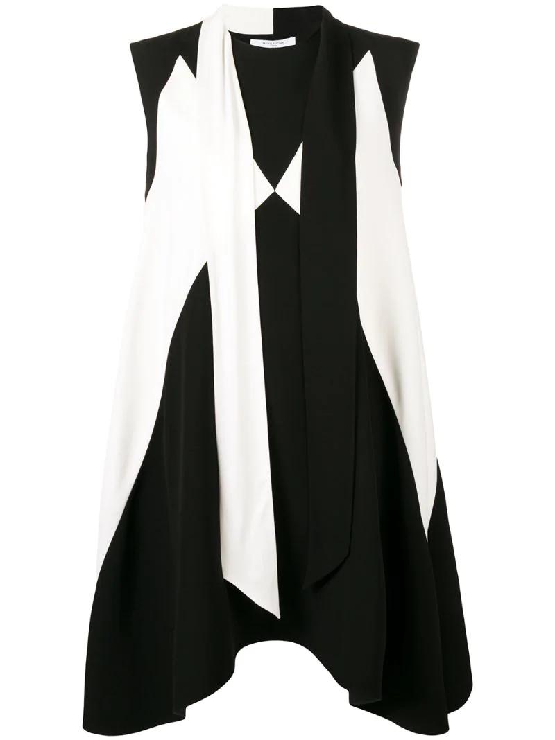GIVENCHY | платье с шарфом | Clouty