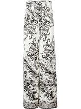 Etro | широкие брюки с орнаментом Etro | Clouty