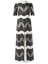 Olympiah | вечернее платье с кружевными панелями Olympiah | Clouty