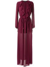 Olympiah   вечернее платье с оборками Olympiah   Clouty