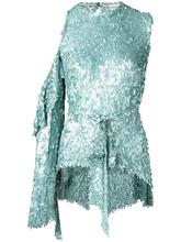 Magda Butrym | блузка с поясом и пайетками Magda Butrym | Clouty