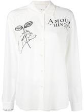 Maison Margiela | рубашка с принтом Maison Margiela | Clouty