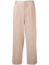 Isabel Marant   укороченные расклешенные брюки Isabel Marant   Clouty
