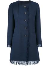 Tagliatore   пиджак с бахромой 'Doris ' Tagliatore   Clouty