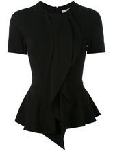 GIVENCHY | приталенная блузка с баской Givenchy | Clouty