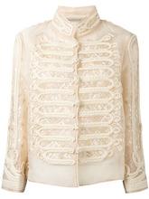 Ermanno Scervino | двубортная рубашка с высоким воротом Ermanno Scervino | Clouty