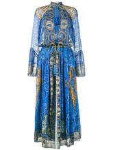 Etro | длинное свободное платье с глубоким вырезом Etro | Clouty