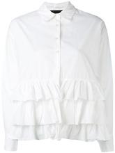 Erika Cavallini | рубашка с оборками Erika Cavallini | Clouty
