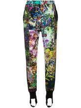 A.F.Vandevorst | спортивные штаны с контрастными рисунками A.F.Vandevorst | Clouty