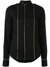A.F.Vandevorst | рубашка с золотистой окантовкой A.F.Vandevorst | Clouty