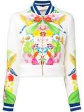 Manish Arora | куртка-бомбер с тропическим рисунком Manish Arora | Clouty