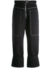 Isabel Marant   брюки с простроченными панелями Isabel Marant   Clouty
