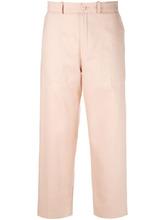 Chloé   легкие укороченные брюки  Chloe   Clouty