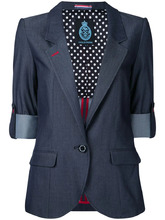 Guild Prime | пиджак с подвернутыми манжетами Guild Prime | Clouty