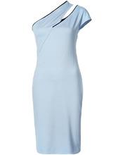 Mugler | облегающее платье на одно плечо Mugler | Clouty