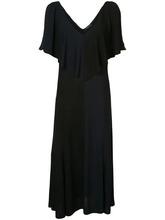 Derek Lam | платье с глубоким вырезом с оборкой Derek Lam | Clouty