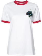 MARQUES'ALMEIDA   футболка с вышитым логотипом Marques'almeida   Clouty