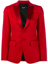 DSQUARED2 | пиджак с атласными лацканами Dsquared2 | Clouty