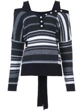 Derek Lam 10 Crosby | трикотажный свитер в полоску Derek Lam 10 Crosby | Clouty