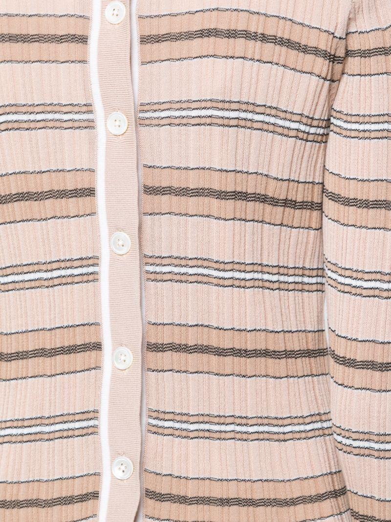 Derek Lam 10 Crosby | Телесный свитер в полоску Derek Lam 10 Crosby | Clouty