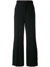 Chloé   укороченные широкие брюки Chloe   Clouty